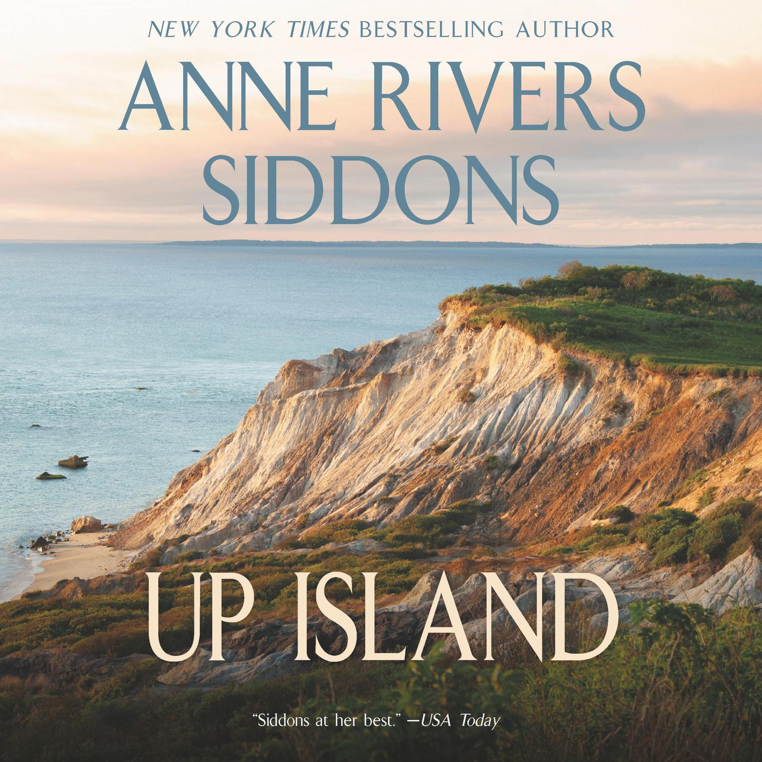 Printable Up Island Audiobook Cover Art