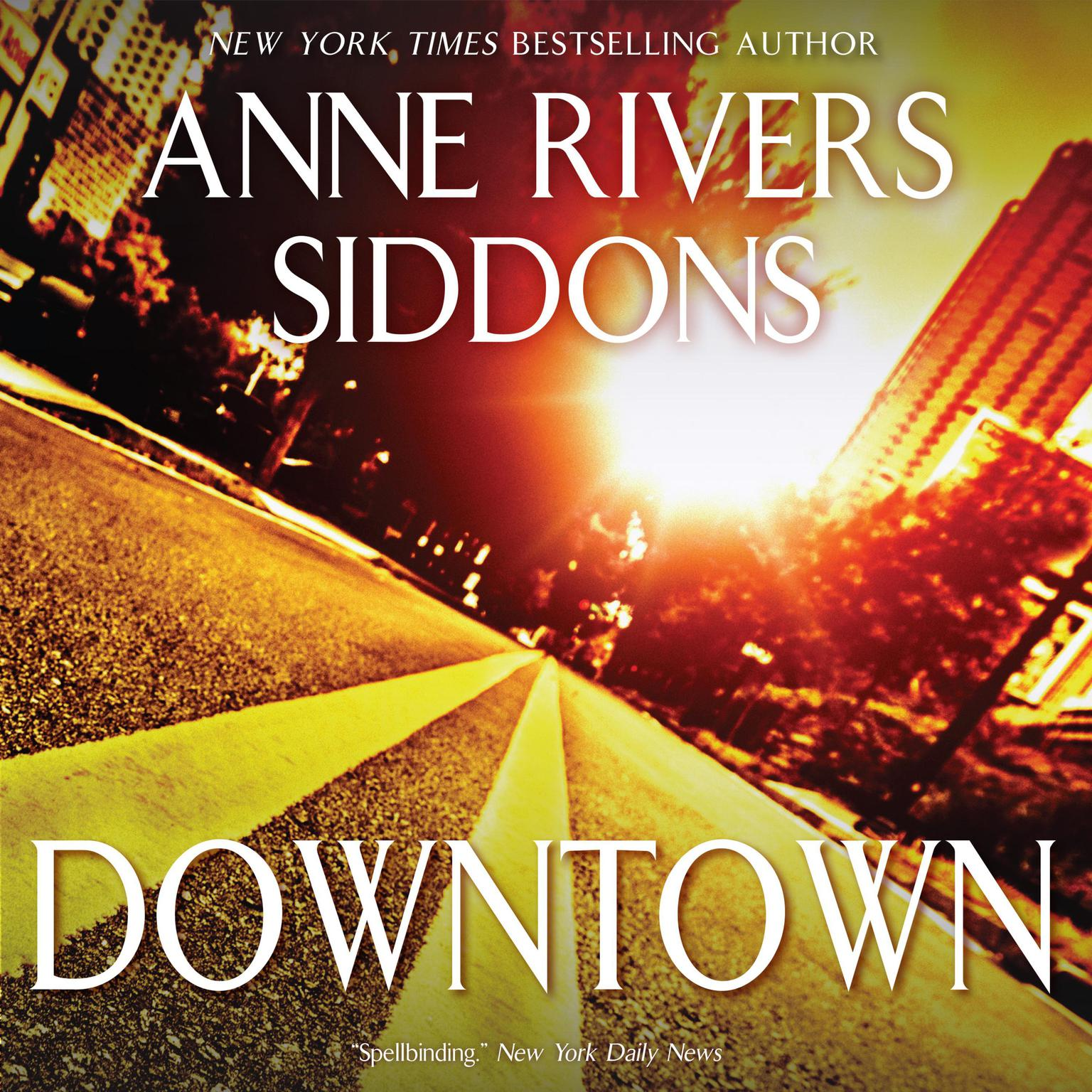 Printable DOWNTOWN Audiobook Cover Art
