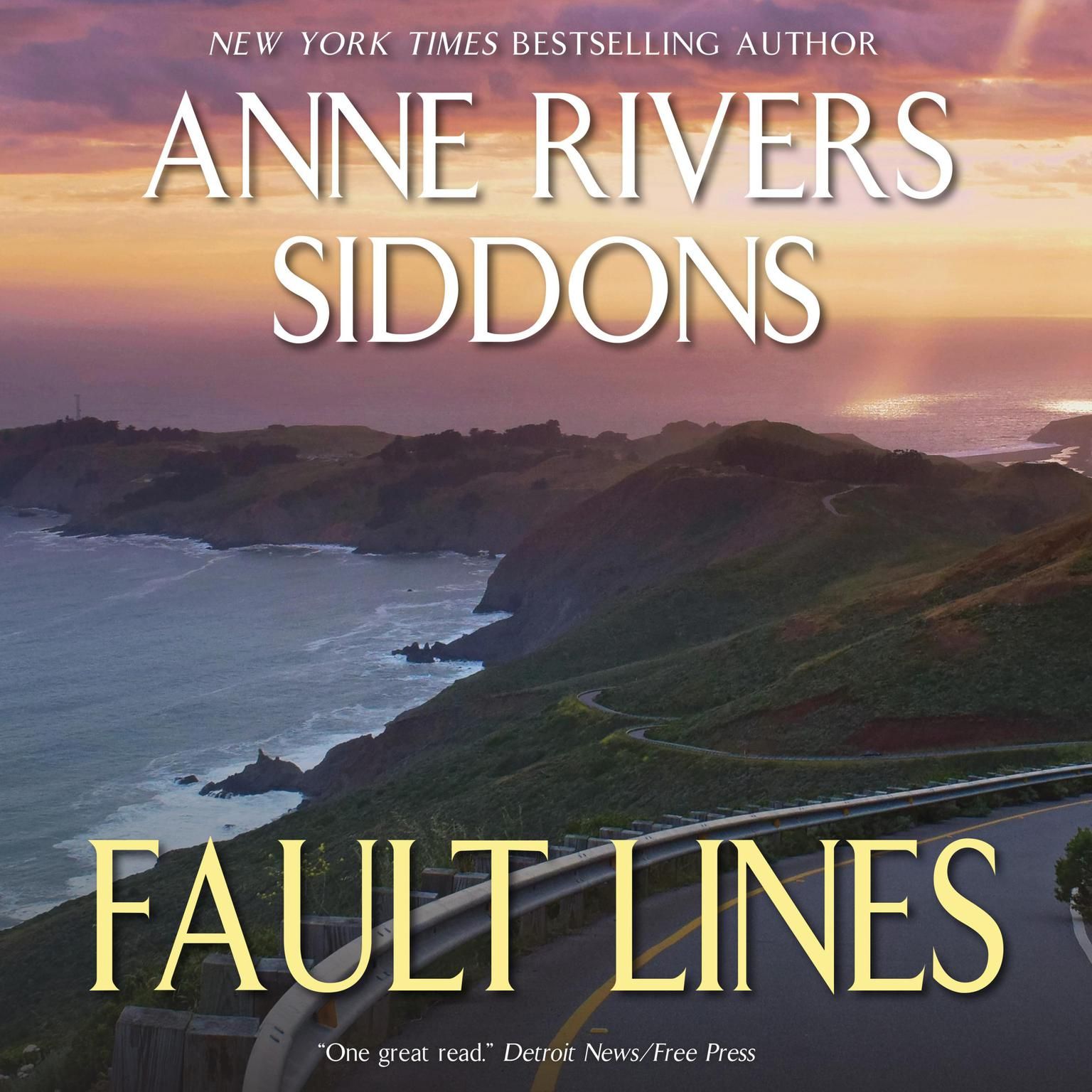 Printable Fault Lines Audiobook Cover Art
