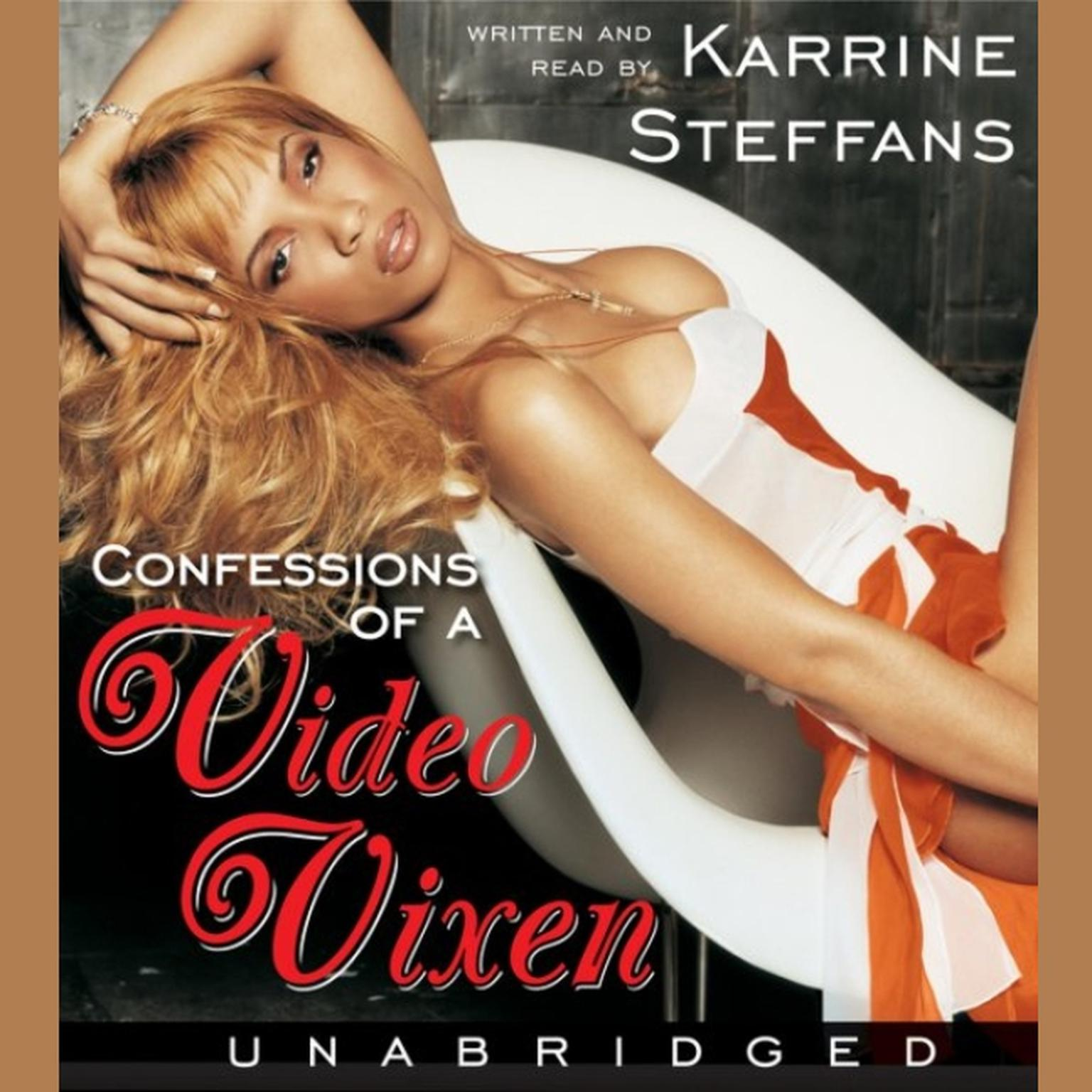 Printable Confessions of a Video Vixen: Wild Times, Rampant 'Roids, Smash Hits, Audiobook Cover Art