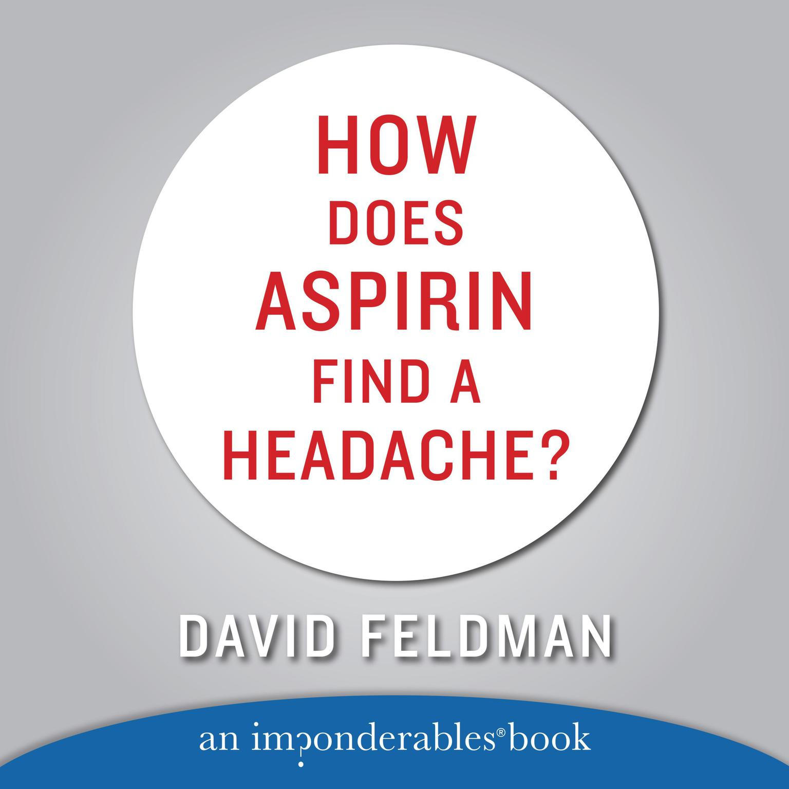 Printable How Does Aspirin Find a Headache? Audiobook Cover Art