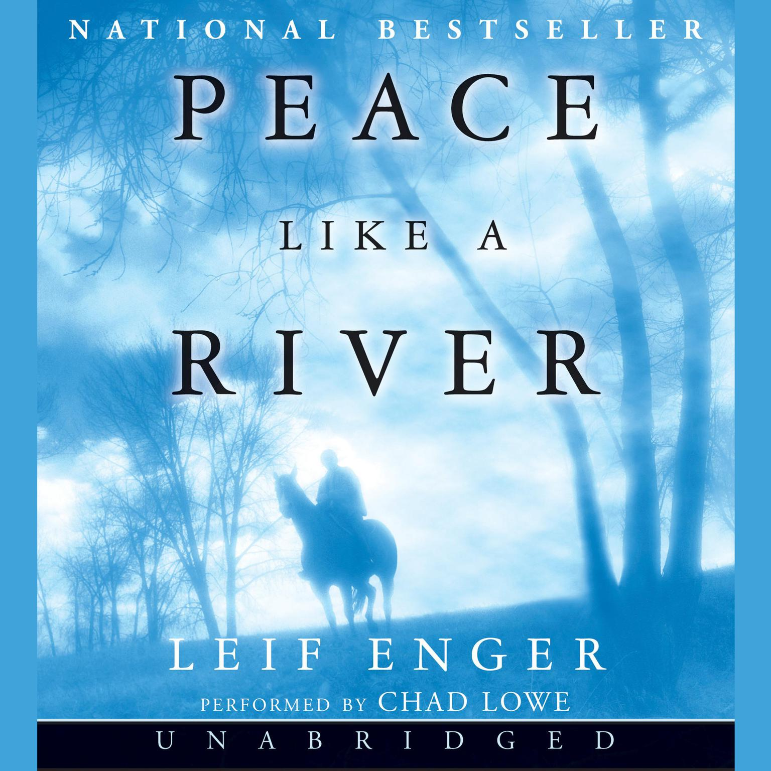Printable Peace Like a River Audiobook Cover Art