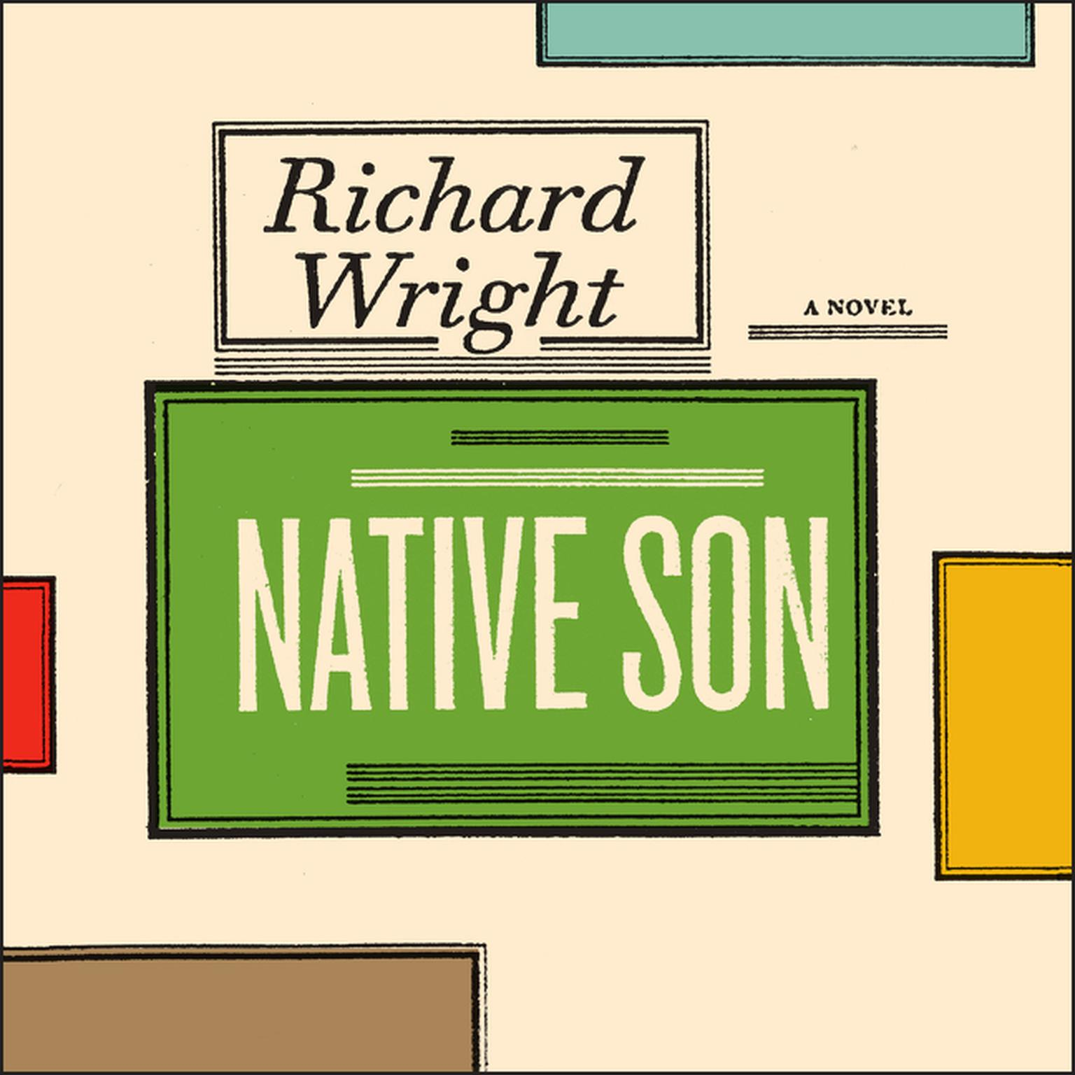 Printable Native Son Audiobook Cover Art
