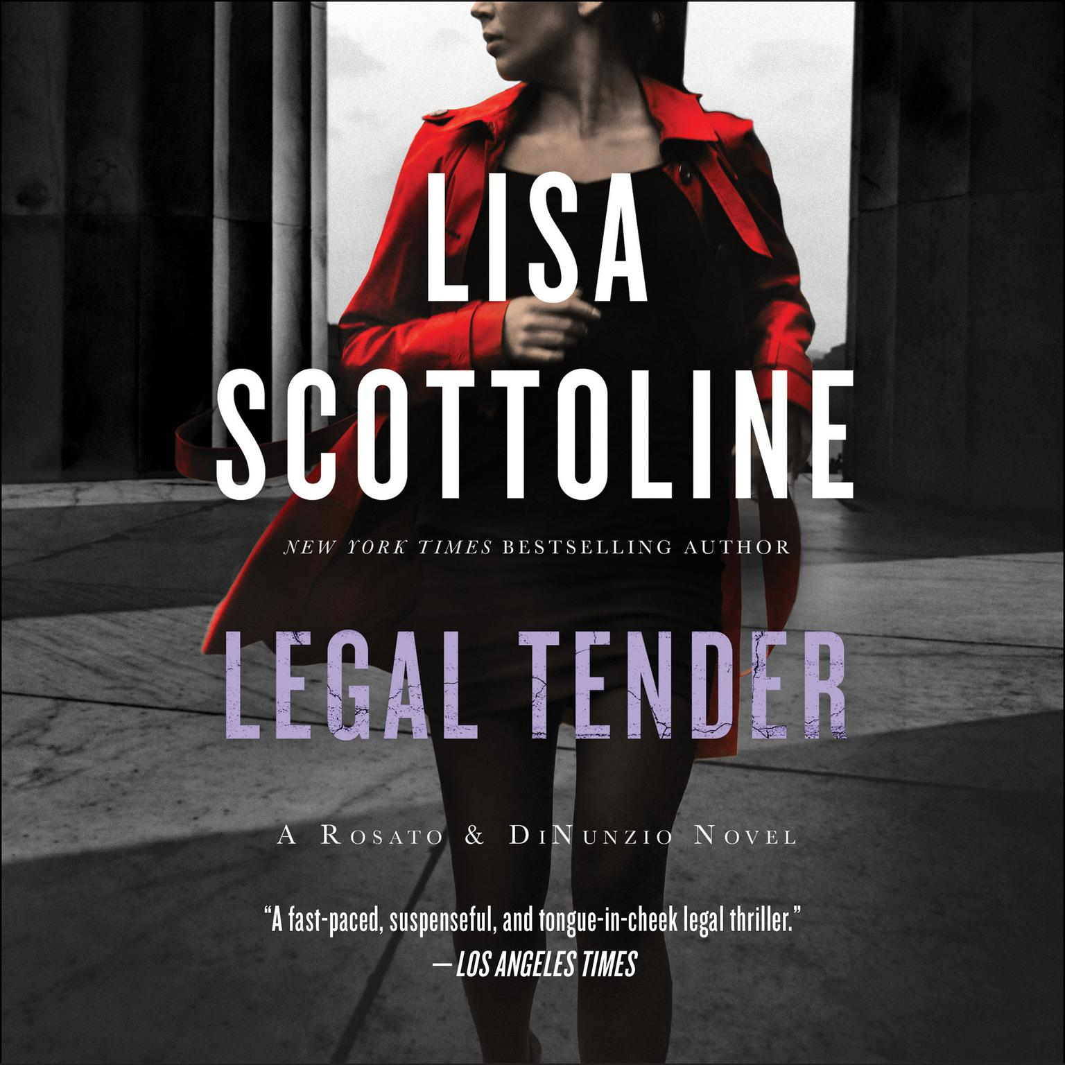 Printable Legal Tender Audiobook Cover Art