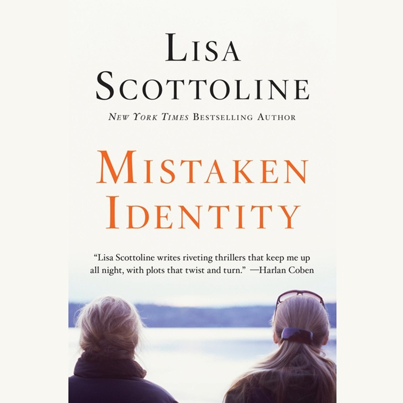 Printable Mistaken Identity Audiobook Cover Art