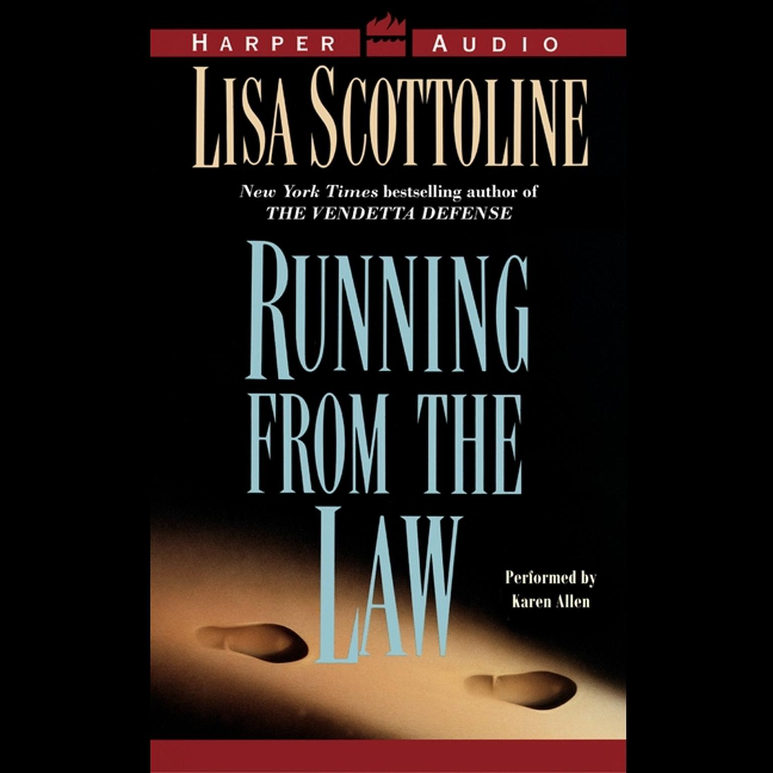 Printable Running From the Law Low Price Audiobook Cover Art