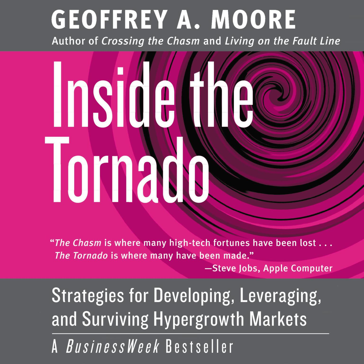 Printable Inside the Tornado: Marketing Strategies from Silicon Valley's Cutting Edge Audiobook Cover Art