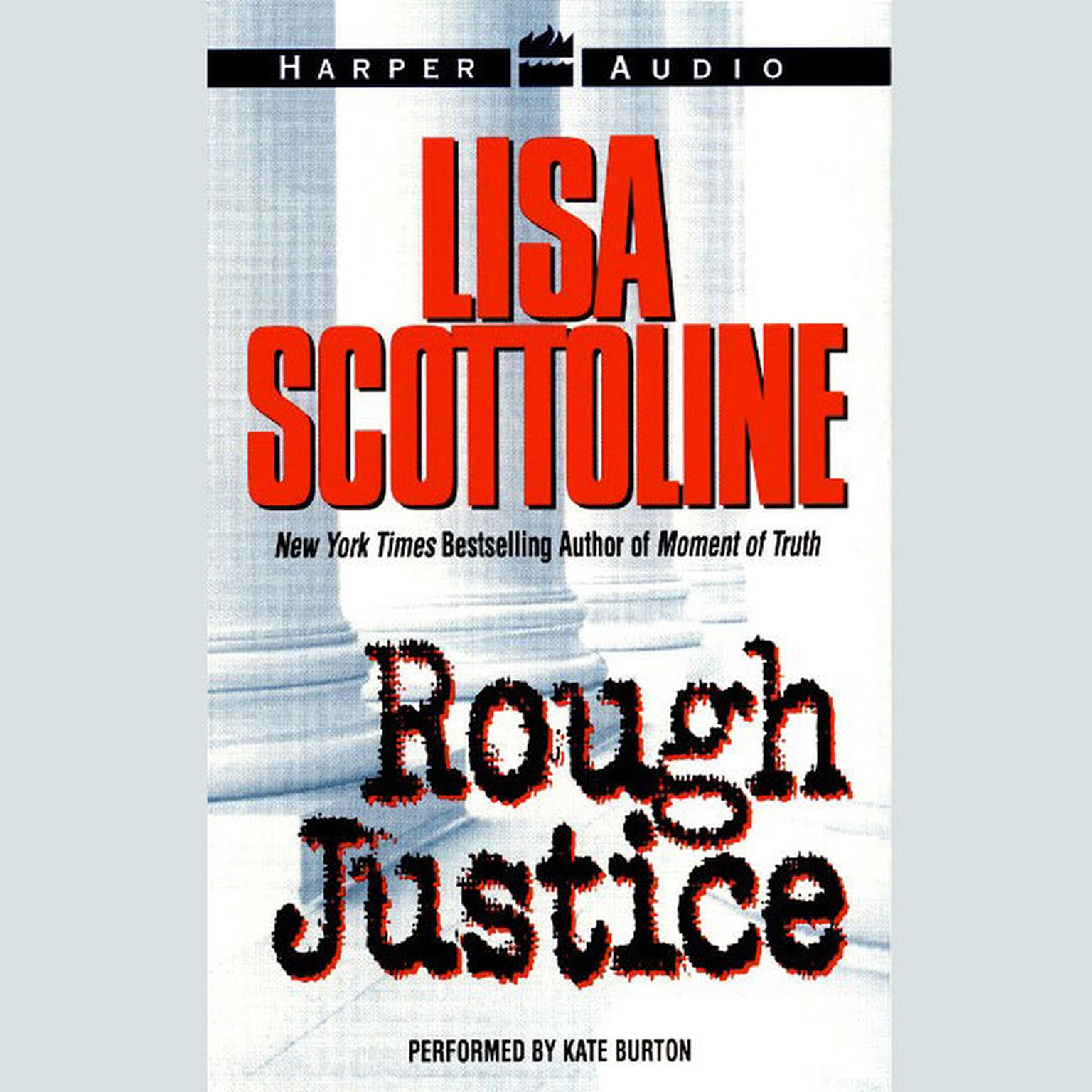Printable Rough Justice Low Price Audiobook Cover Art