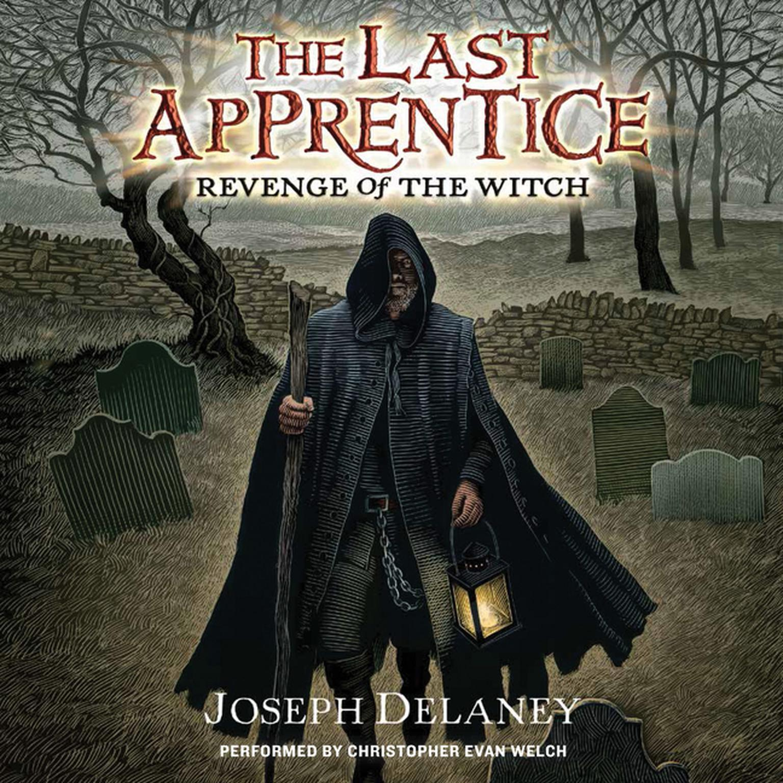 Printable Last Apprentice: Revenge of the Witch (Book 1) Audiobook Cover Art