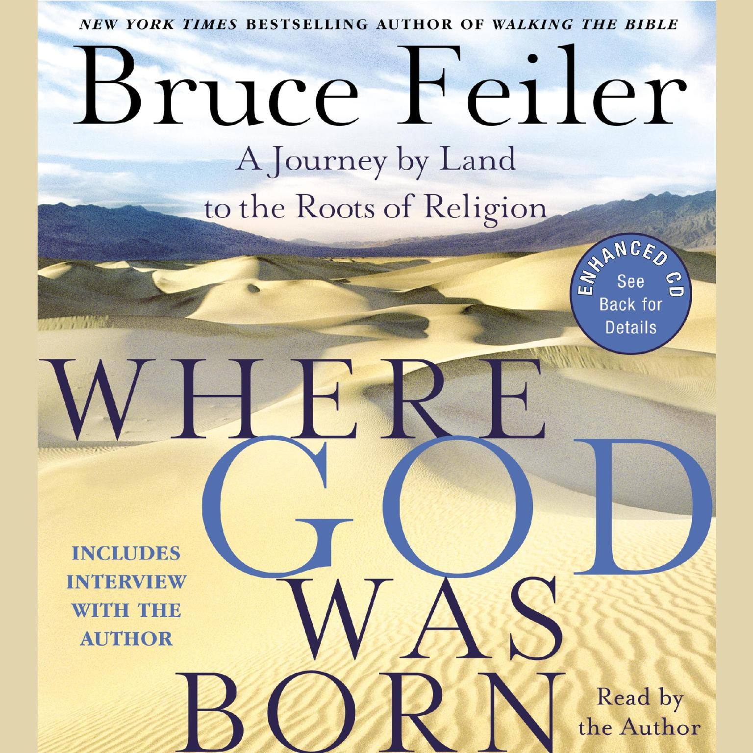 Printable Where God Was Born: A Journey by Land to the Roots of Religion Audiobook Cover Art