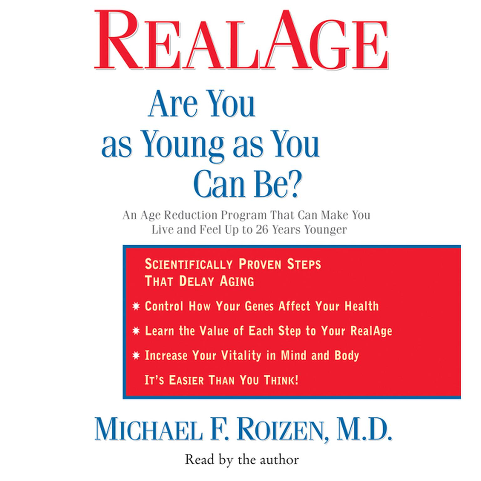 Printable RealAge Audiobook Cover Art