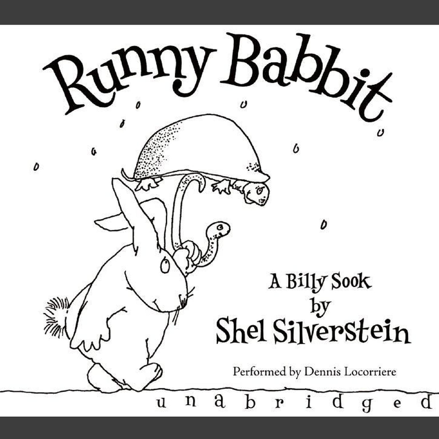 Printable Runny Babbit: A Billy Sook Audiobook Cover Art