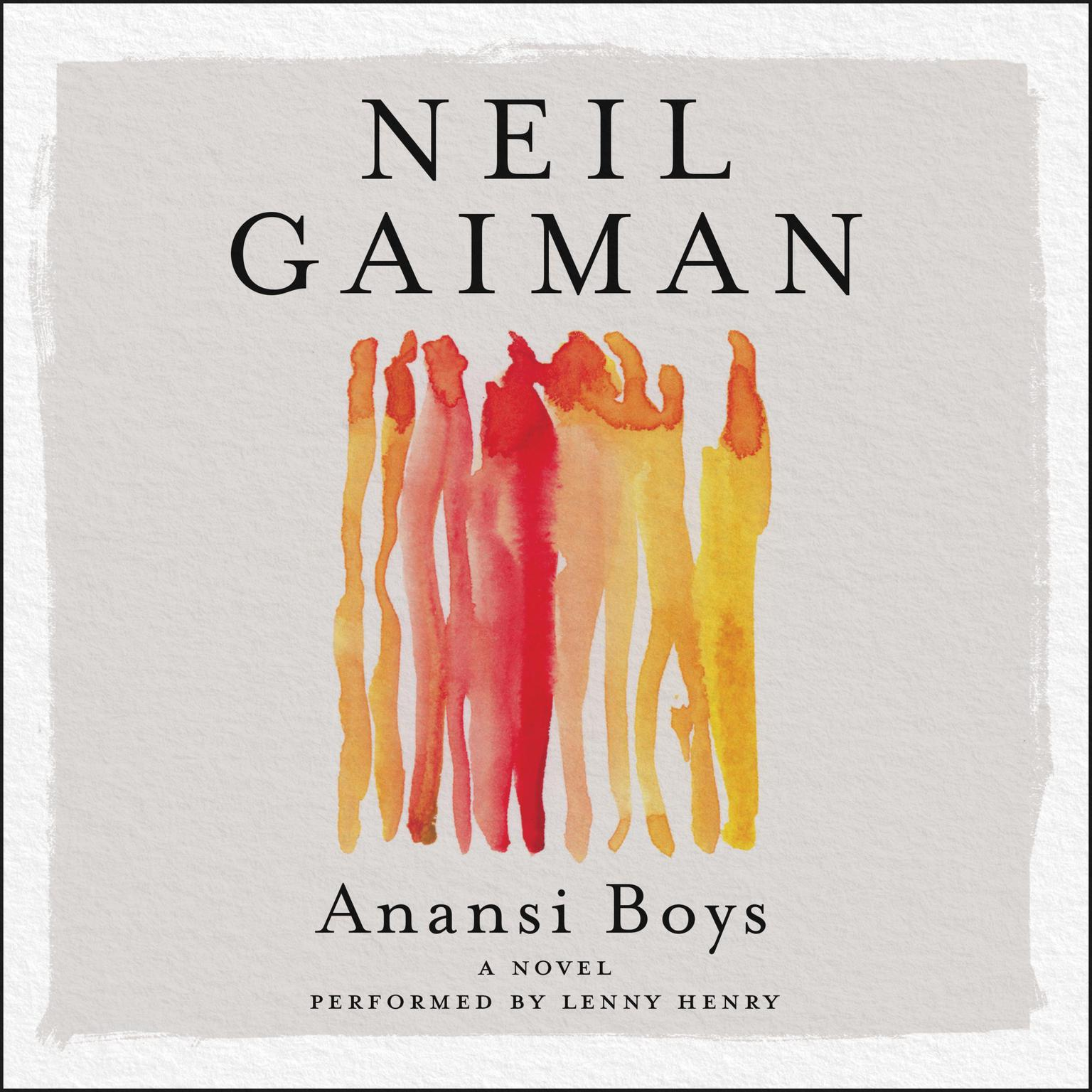 Printable Anansi Boys Audiobook Cover Art