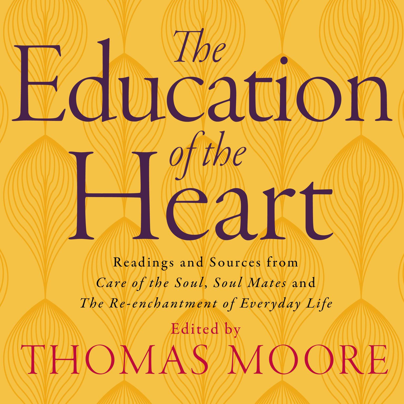 Printable Education of the Heart Audiobook Cover Art
