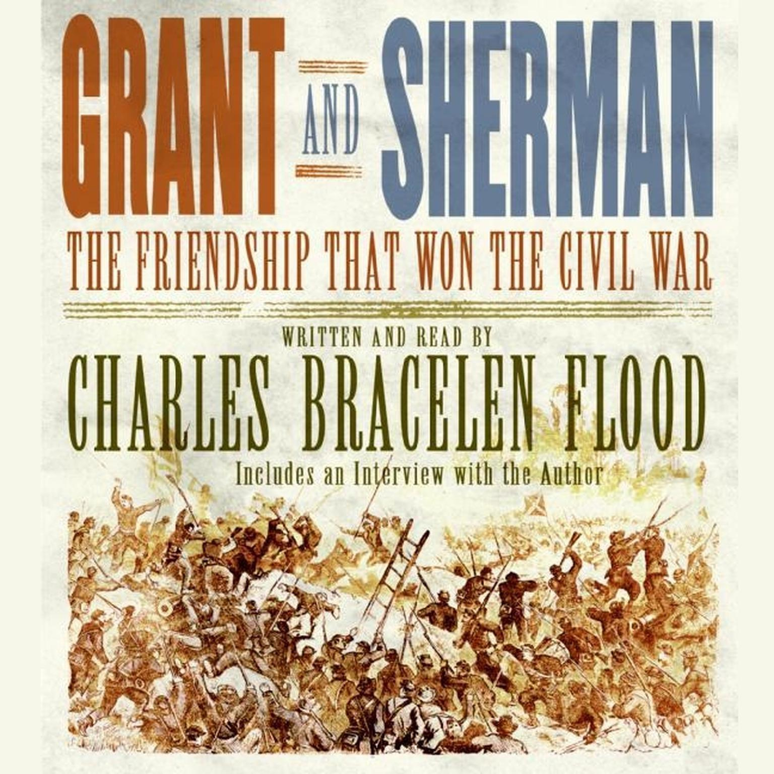 Printable Grant and Sherman: The Friendship That Won the Civil War Audiobook Cover Art