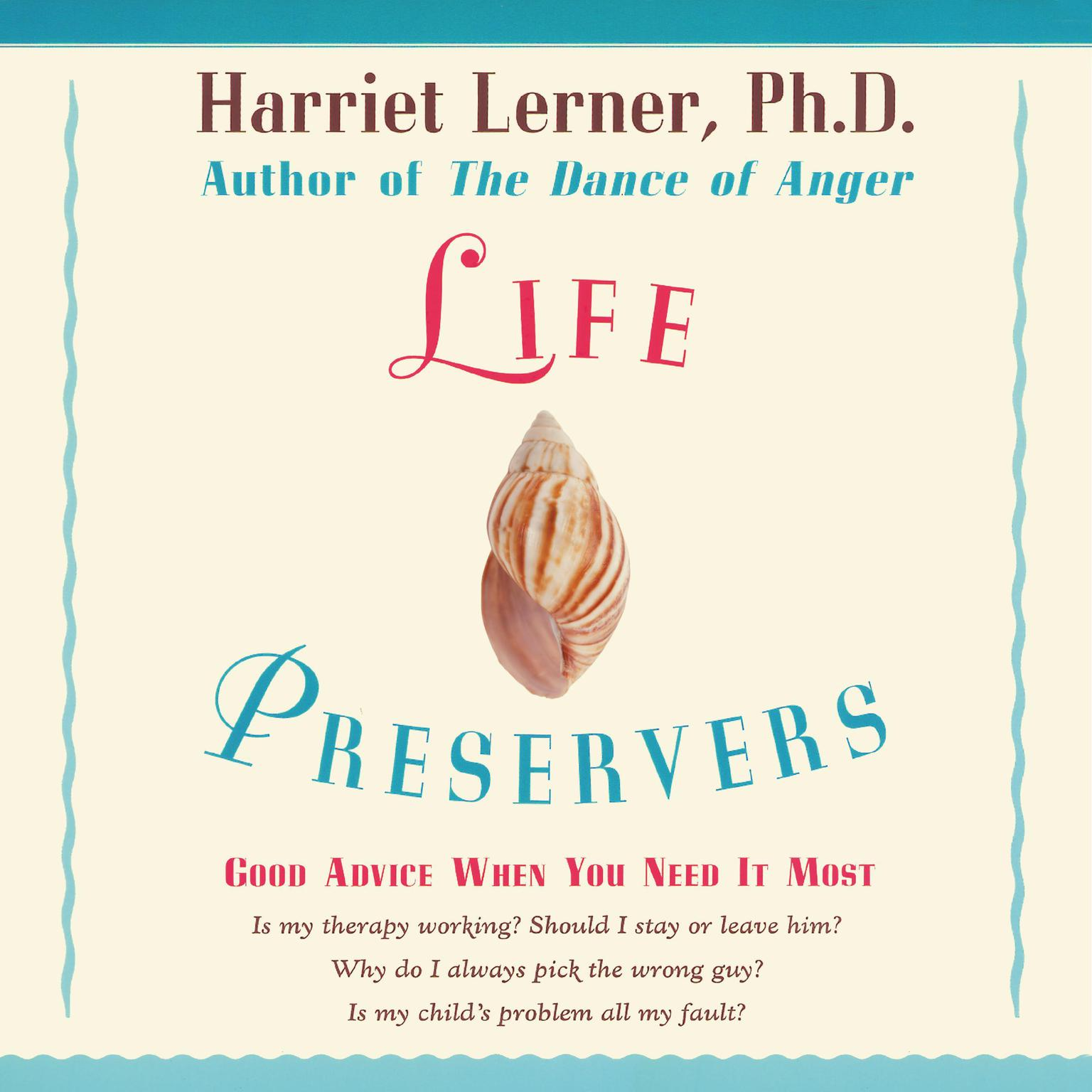 Printable LIFE PRESERVERS: Staying Afloat in Love and Life Audiobook Cover Art
