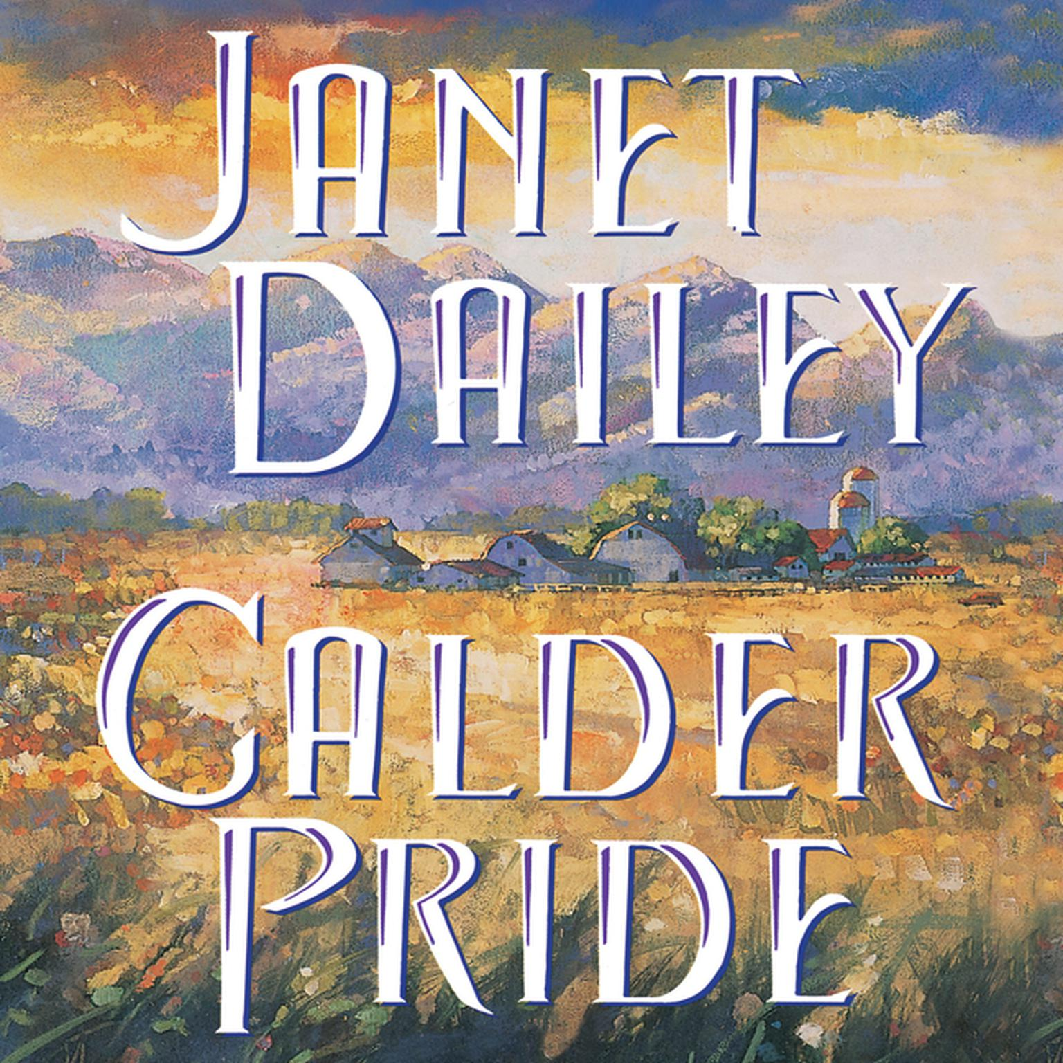 Printable Calder Pride Audiobook Cover Art