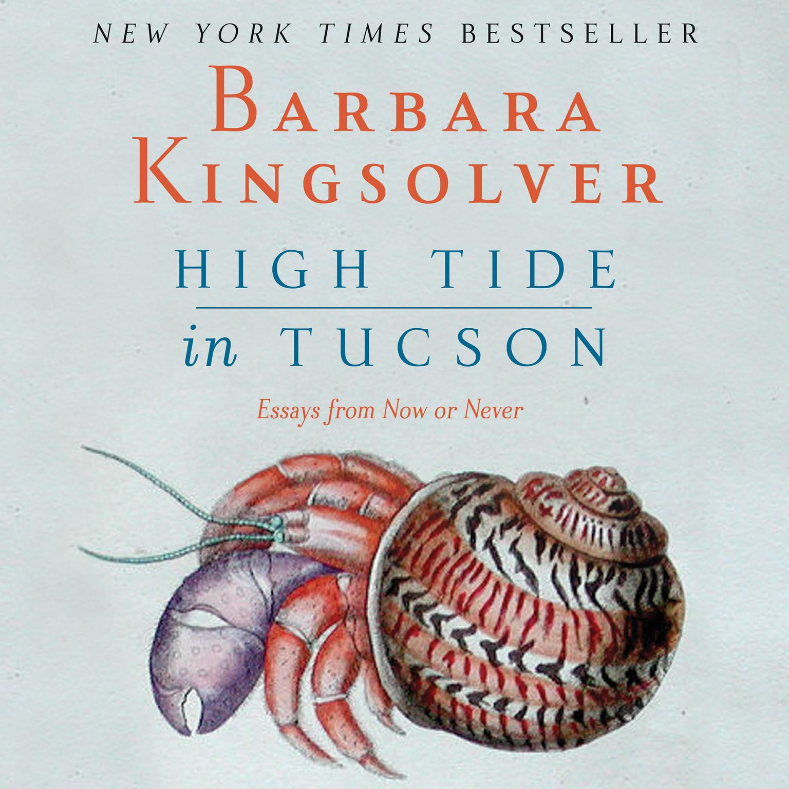 Printable High Tide in Tucson: Essays from Now or Never Audiobook Cover Art
