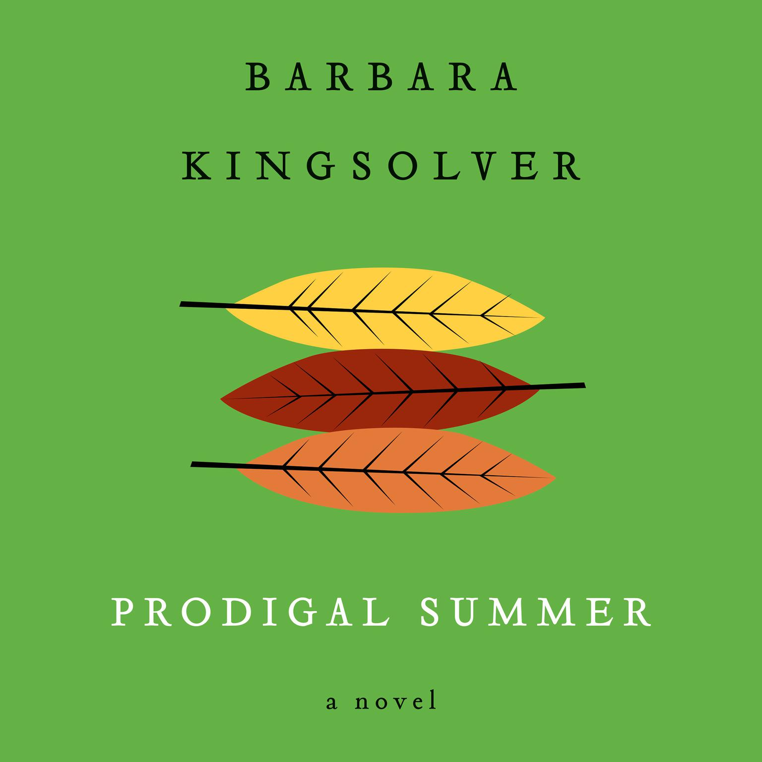 Printable Prodigal Summer: A Novel Audiobook Cover Art