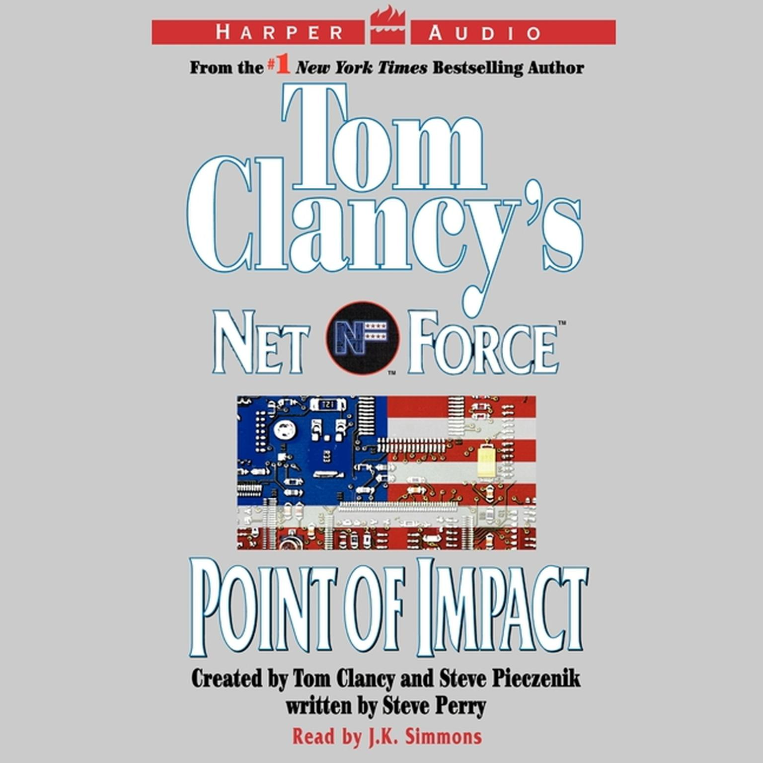 Printable Tom Clancy's Net Force #5:Point of Impact Audiobook Cover Art