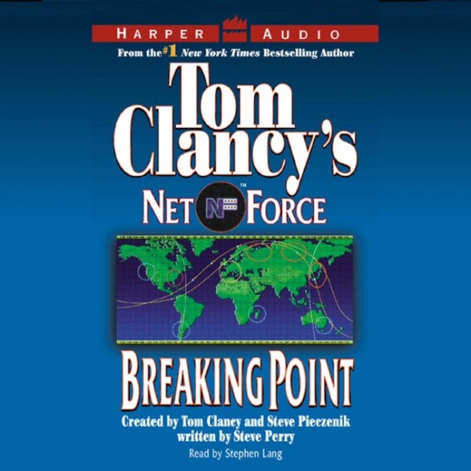 Printable Tom Clancy's Net Force #4: Breaking Point: Tom Clancy's Net Force Audiobook Cover Art