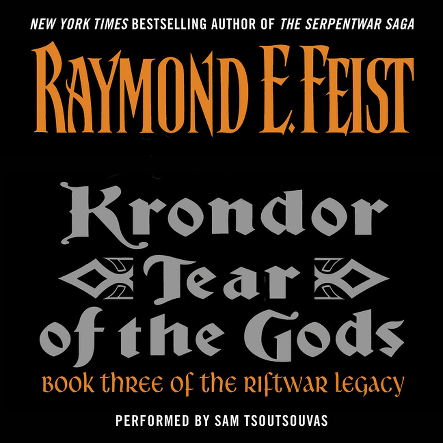Printable Krondor: Tear of the Gods Audiobook Cover Art