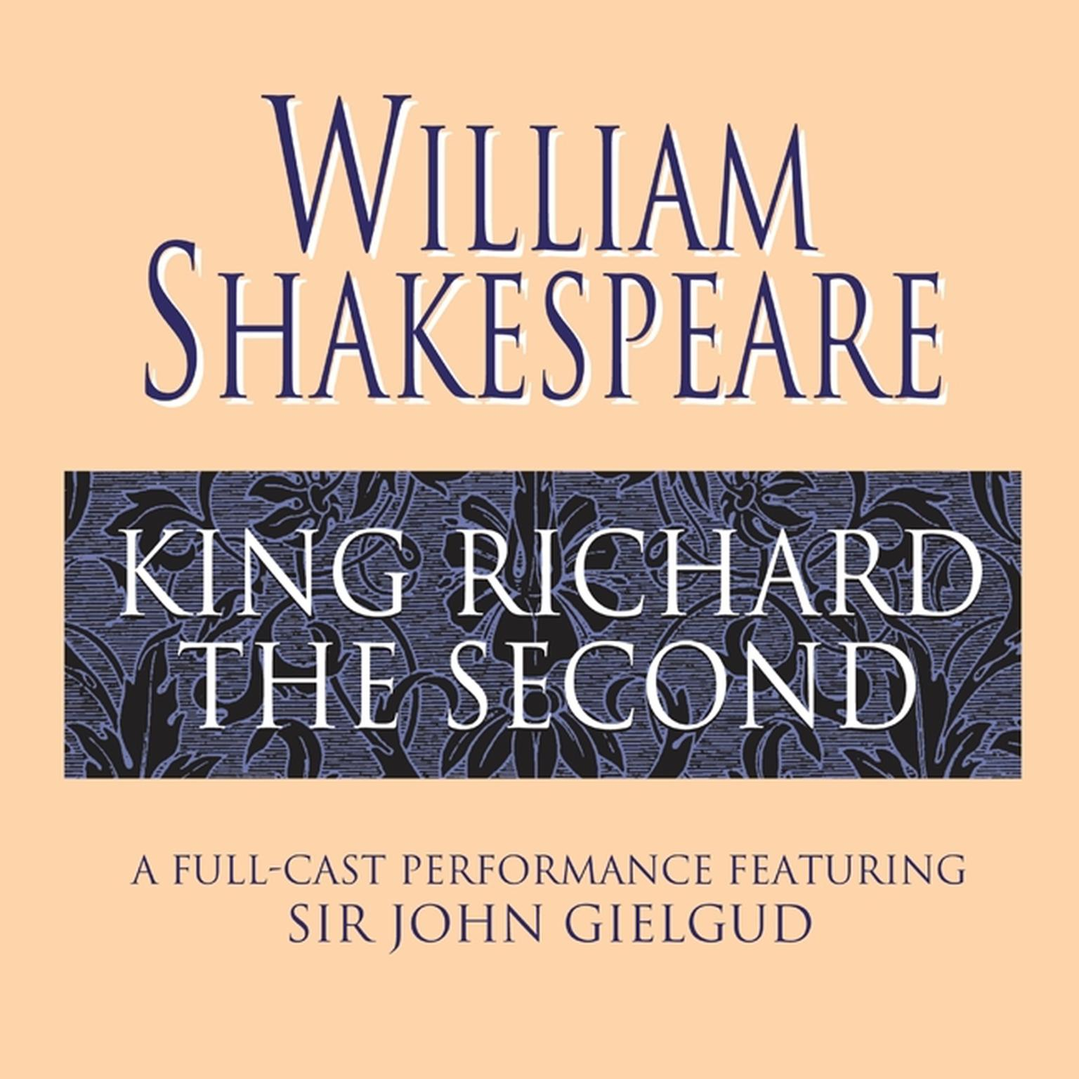 Printable King Richard the Second Audiobook Cover Art