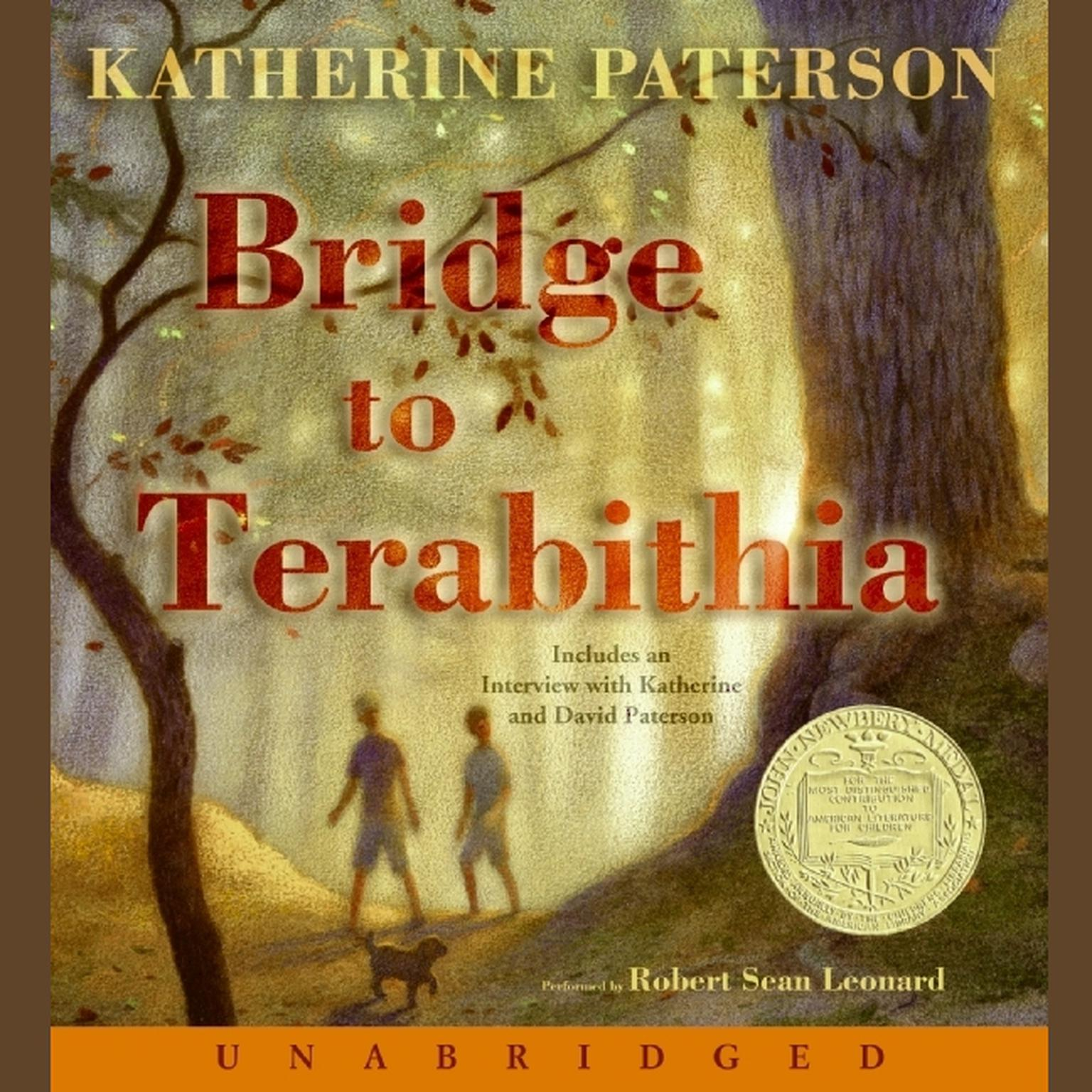 Printable Bridge to Terabithia Audiobook Cover Art