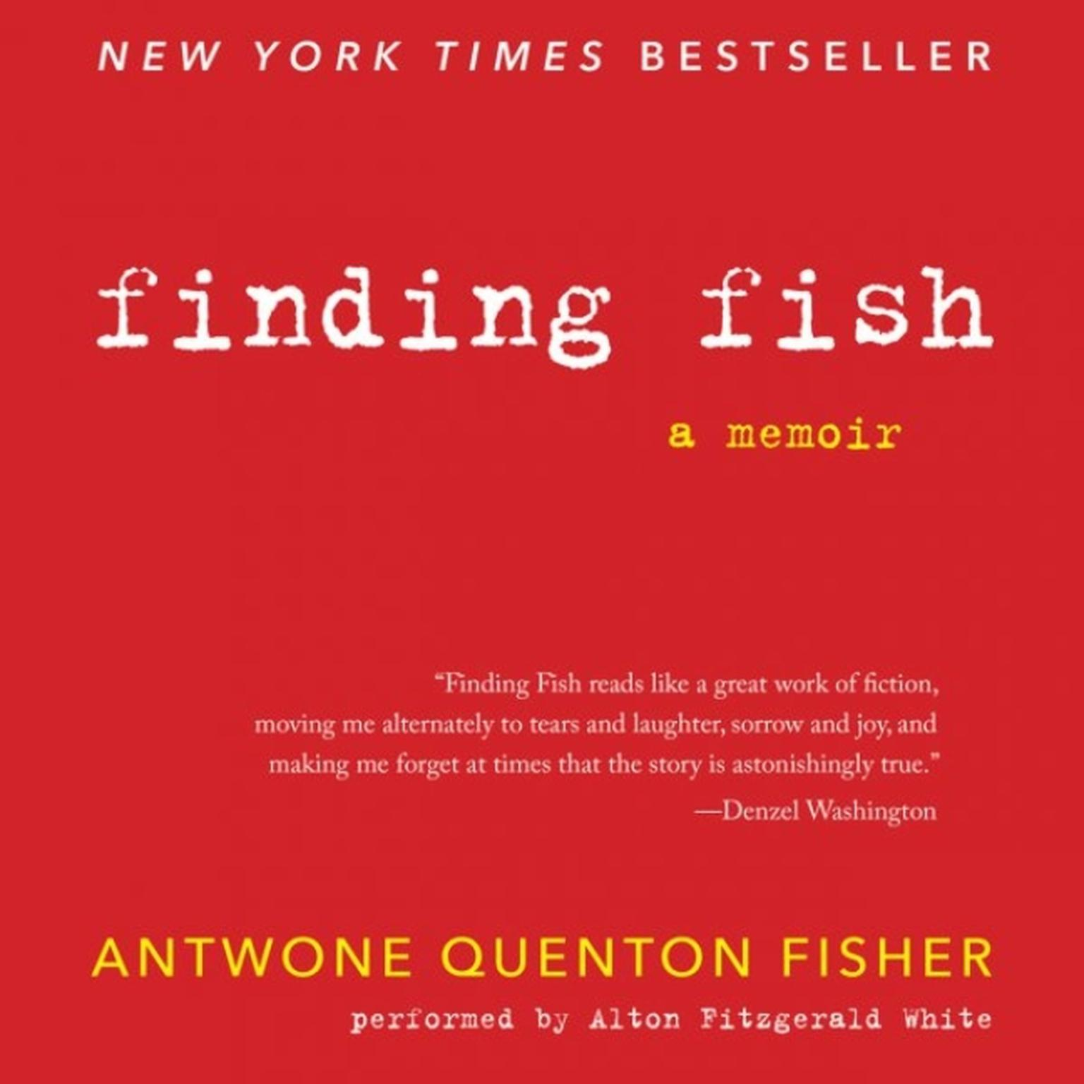 Printable Finding Fish Audiobook Cover Art