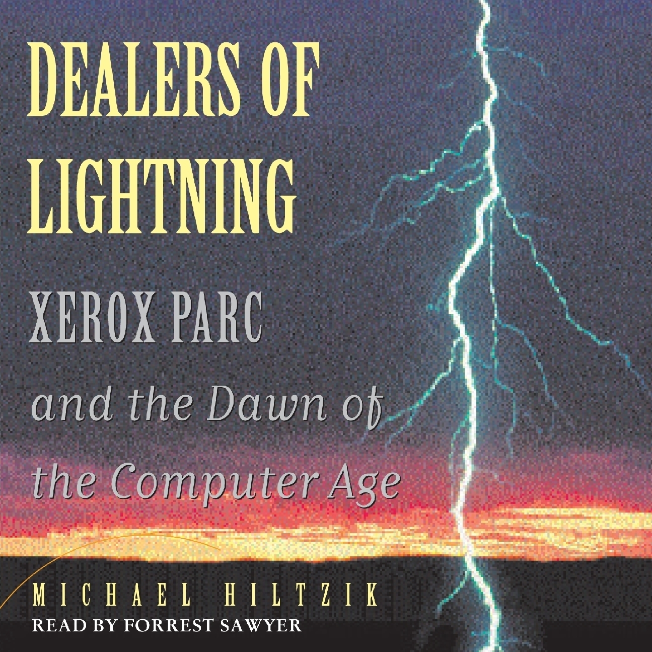 Printable Dealers of Lightning: Xerox PARC and the Dawn of the Computer Age Audiobook Cover Art
