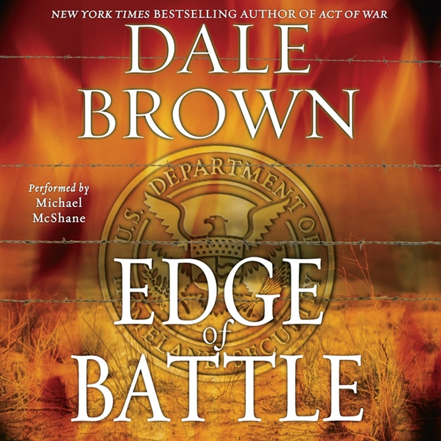 Printable Edge of Battle: A Novel Audiobook Cover Art