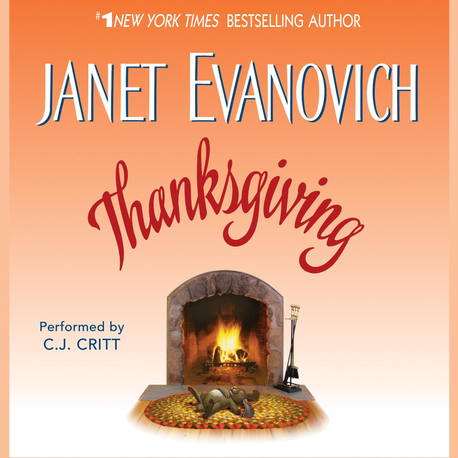 Printable Thanksgiving Audiobook Cover Art