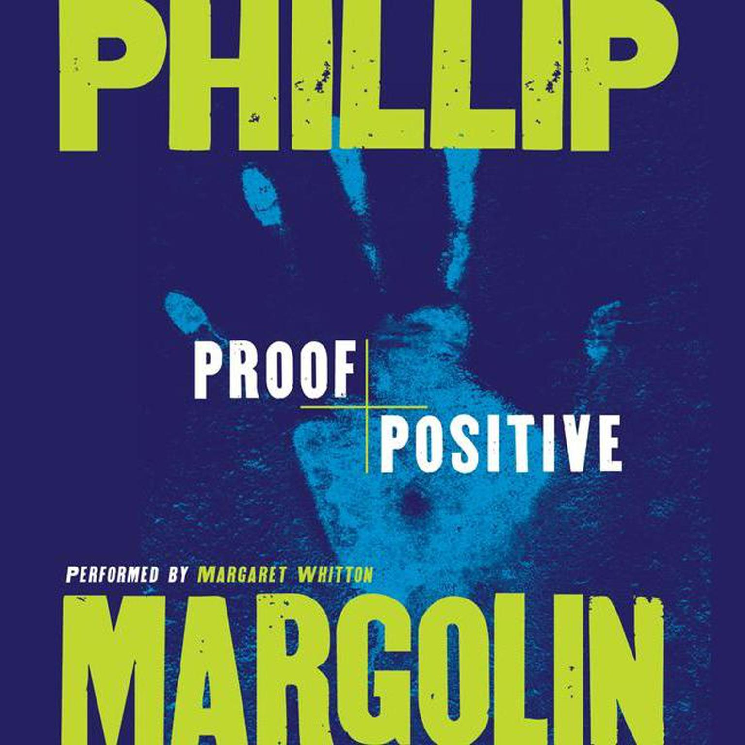 Printable Proof Positive Audiobook Cover Art