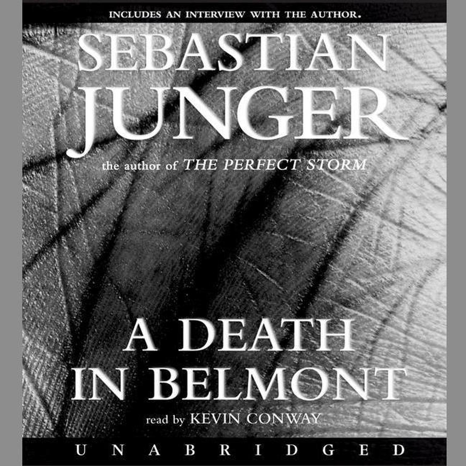Printable A Death in Belmont Audiobook Cover Art