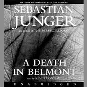 A Death in Belmont Audiobook, by Sebastian Junger