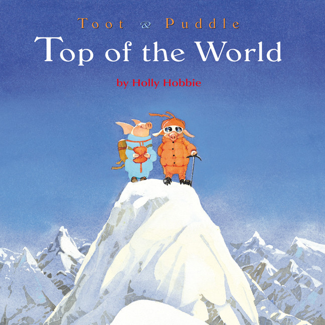 Printable Toot & Puddle: Top of the World Audiobook Cover Art