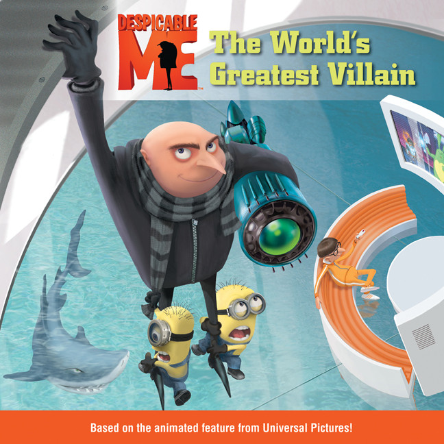 Printable Despicable Me: The World's Greatest Villain Audiobook Cover Art