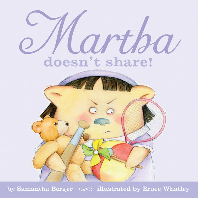 Printable Martha doesn't share! Audiobook Cover Art