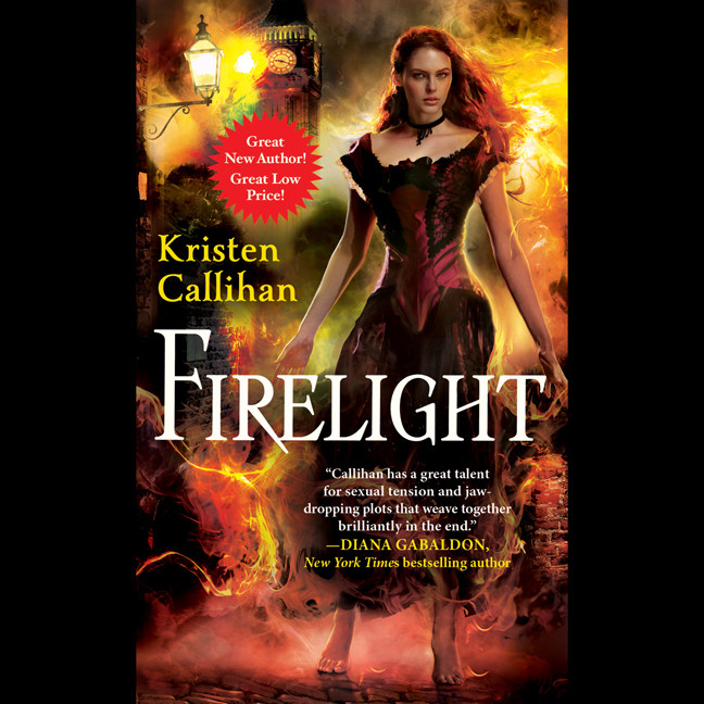 Printable Firelight Audiobook Cover Art
