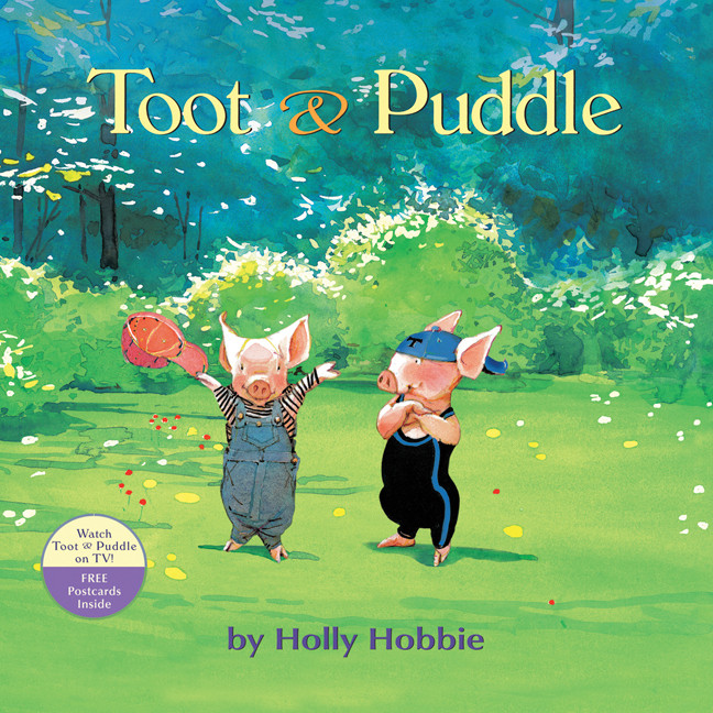 Printable Toot & Puddle Audiobook Cover Art