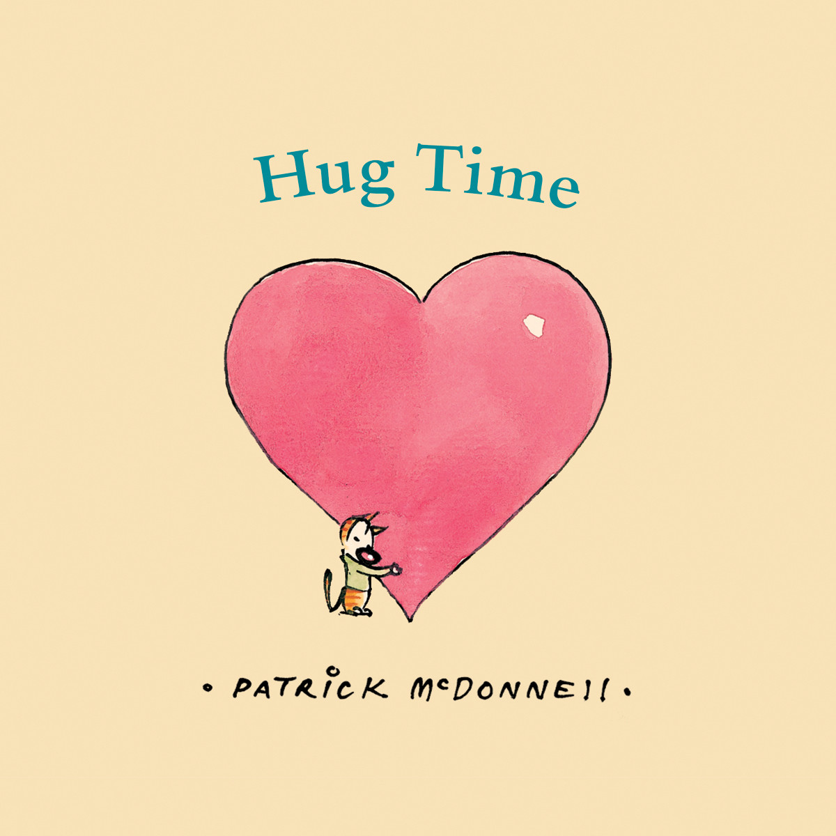 Printable Hug Time Audiobook Cover Art