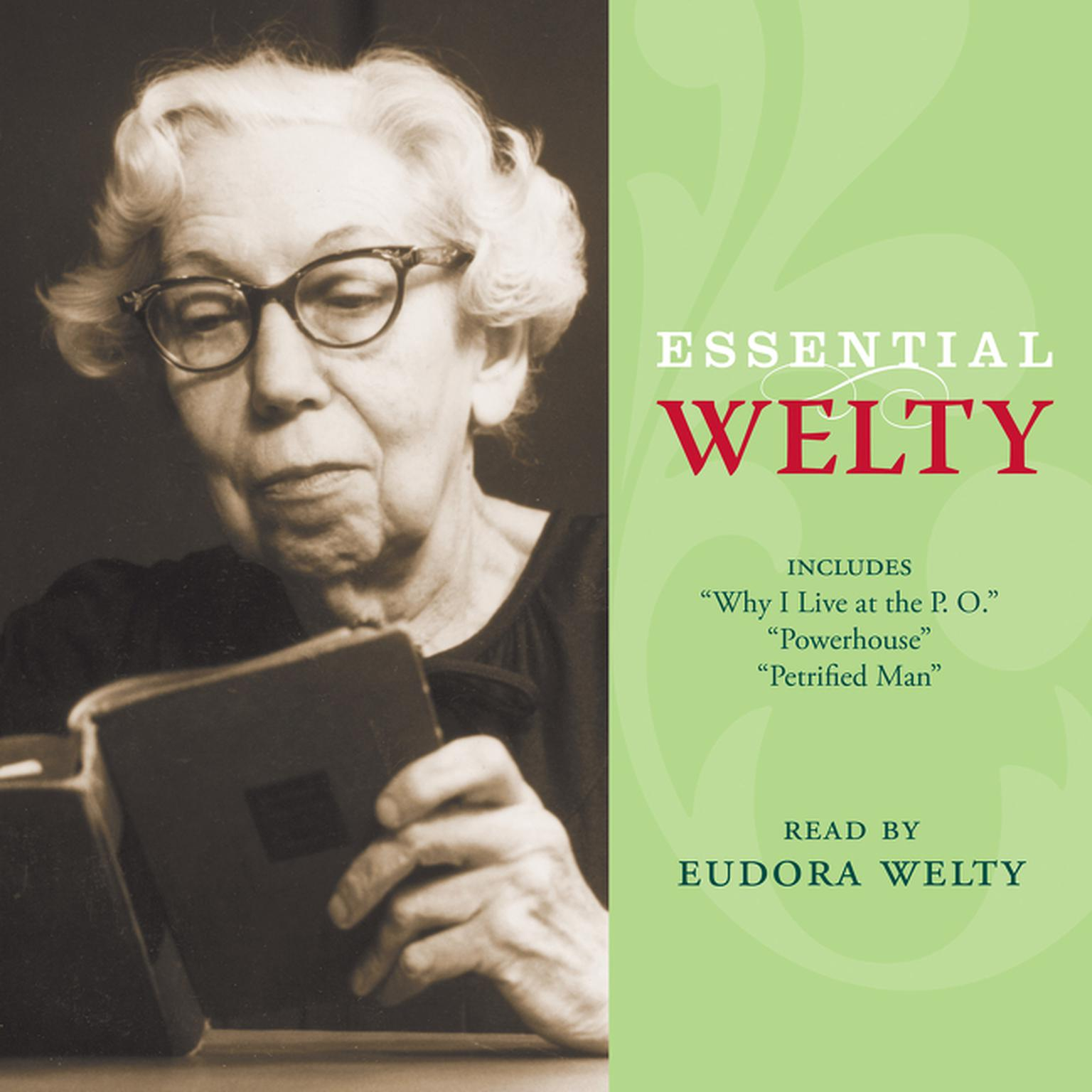 Printable Essential Welty: Powerhouse and Petrified Man Audiobook Cover Art