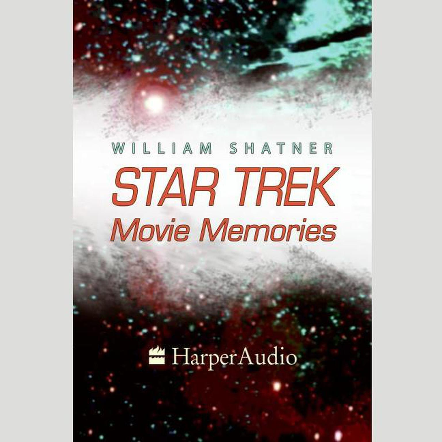 Printable STAR TREK MOVIE MEMORIES Audiobook Cover Art