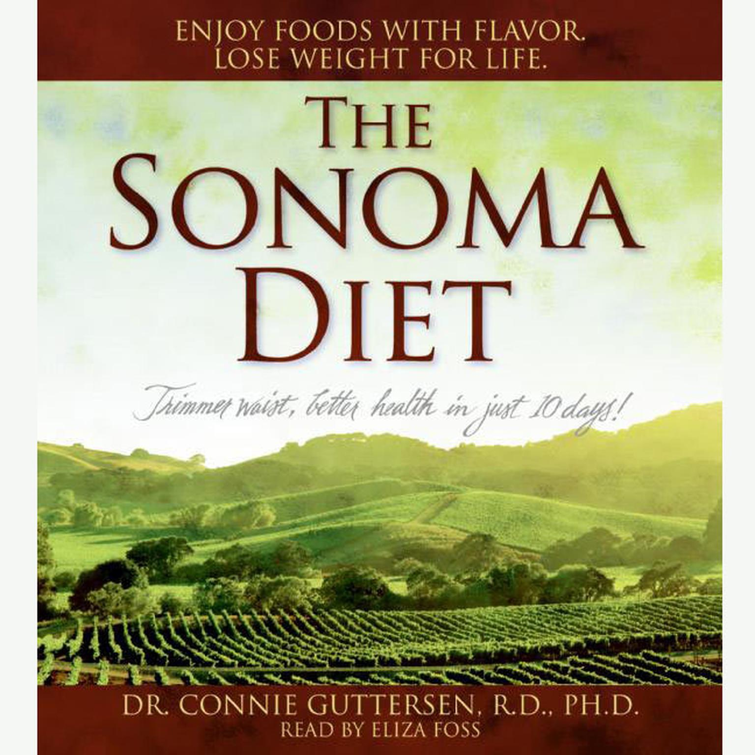 Printable The Sonoma Diet Audiobook Cover Art