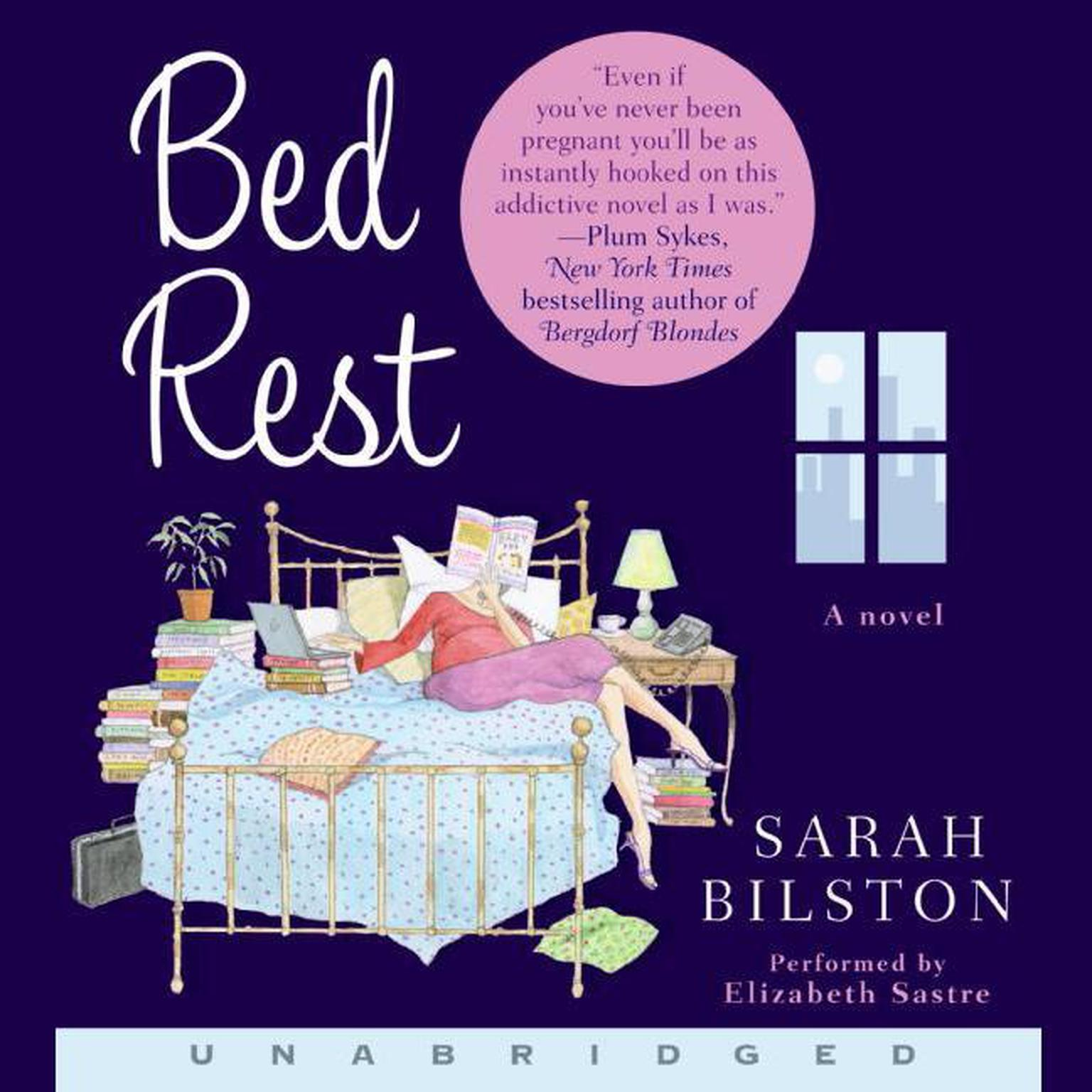 Printable Bed Rest Audiobook Cover Art
