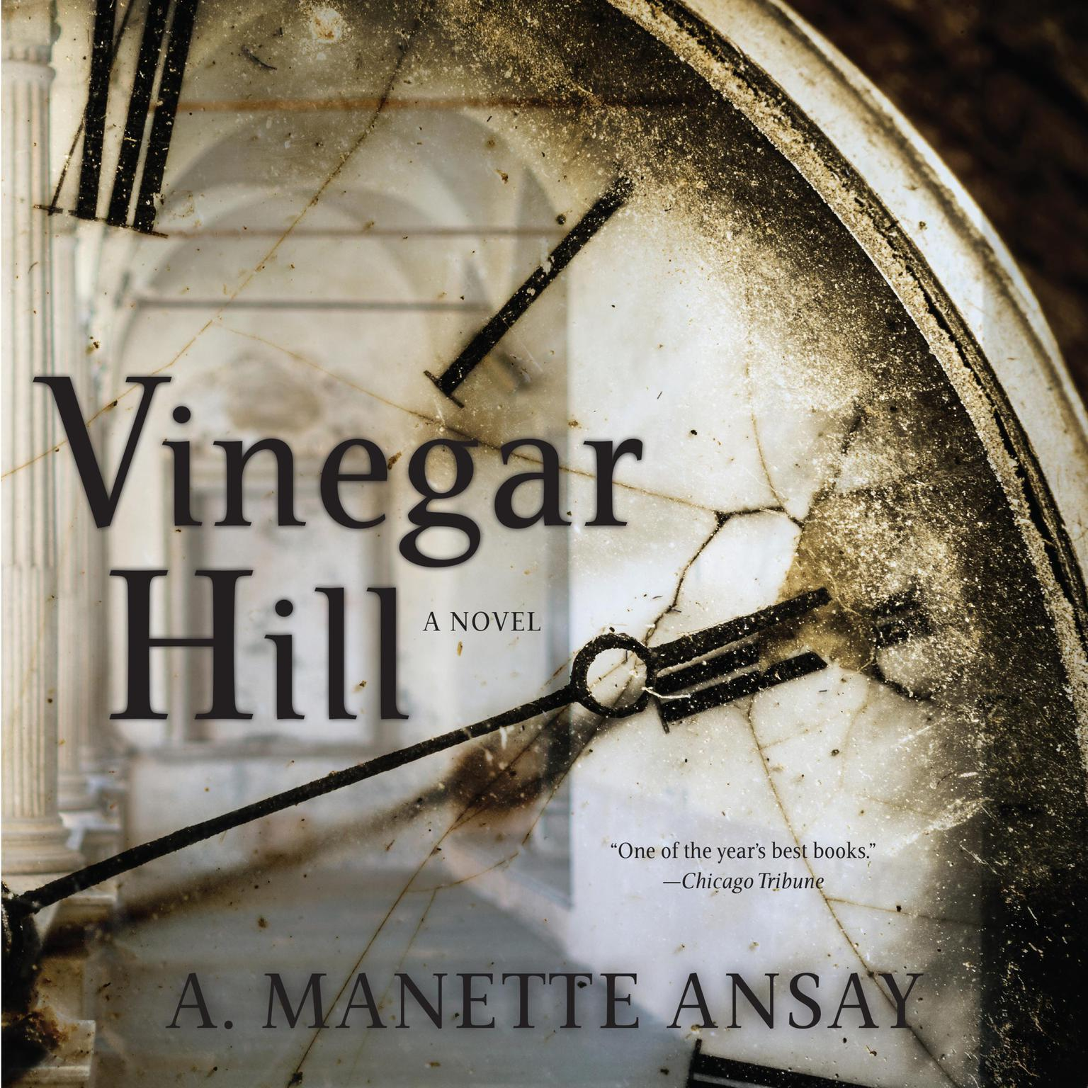 Printable Vinegar Hill Audiobook Cover Art