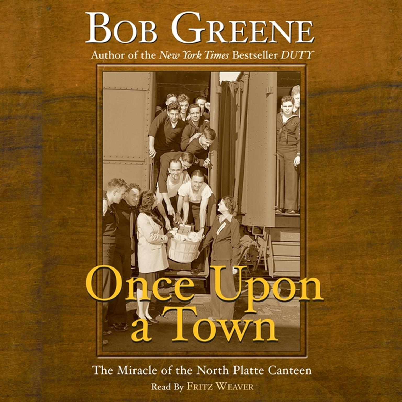 Printable Once Upon a Town: The Miracle of the North Platte Canteen Audiobook Cover Art