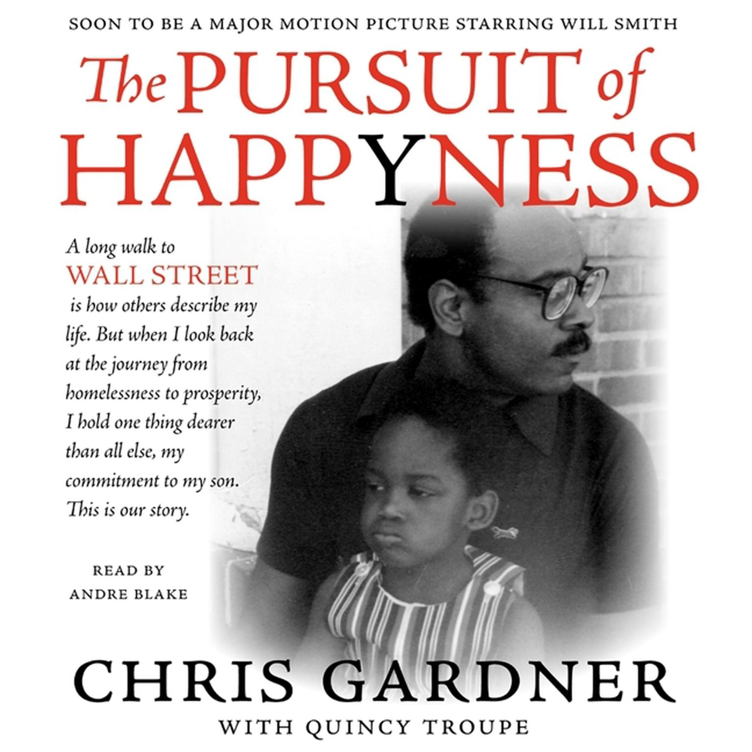 Printable The Pursuit of Happyness Audiobook Cover Art