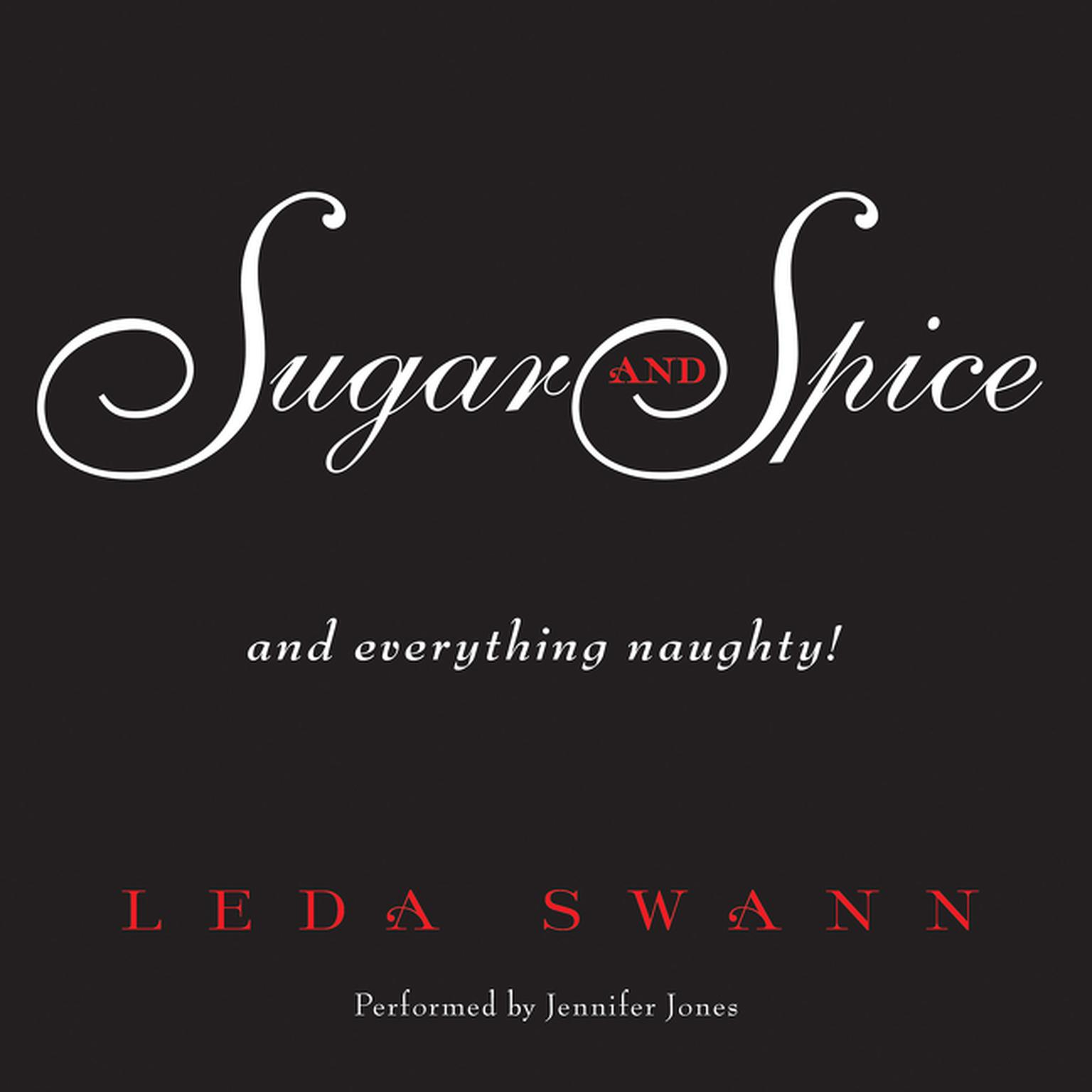 Printable Sugar and Spice Audiobook Cover Art