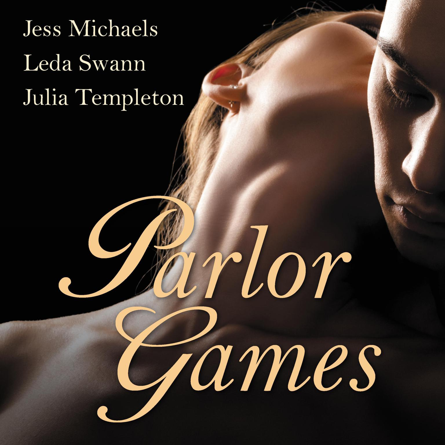 Printable Parlor Games Audiobook Cover Art